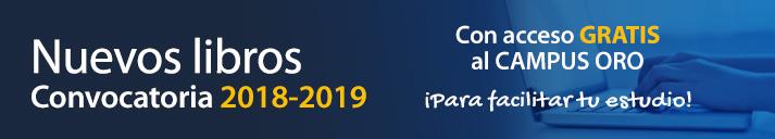 Nuevos Libros Convocatoria 2018-2019